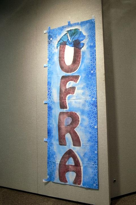 UFRA's Hand Painted Flag